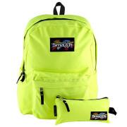 Studentský batoh Smash Neonový žlutý