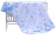 Souprava do postýlky 2dílná Scarlett Lucy - modrá 135 x 100 cm