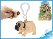 Přívěsek na klíče bulldog 5,5cm