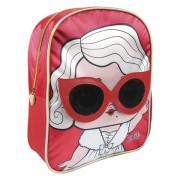 Dětský batůžek 3D L.O.L. Červeno/růžový