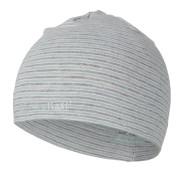 Čepice smyk natahovací pruh Outlast ® - pruh lišejník šedý melír