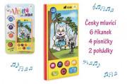 Veselý mobilní telefon česky mluvící se zvukem
