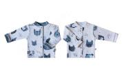 Bavlněný kabátek oboustranný HafMňau Baby Service