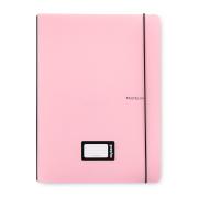 Sešit PP Oxybook A4 40 listů PASTELINI růžová