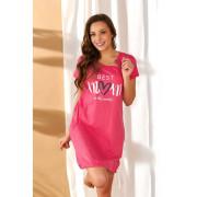 Kojící noční košile Růžová/Best mom