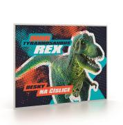 Desky na číslice Premium Dinosaurus