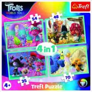 Puzzle 4v1 Trollové koncertní turné