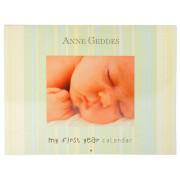 My First Year Calendar - Sleeping baby by Anne Geddes
