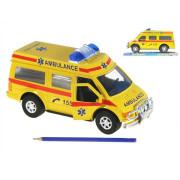 Auto ambulance 27cm na setrvačník