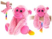 Opice plyšová 20cm visící na ruku 0m+