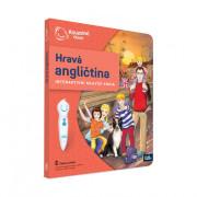 Interaktivní mluvící kniha Kouzelné čtení Hravá angličtina