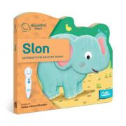 Kouzelné čtení Minikniha s výsekem Slon