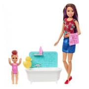 Barbie chůva - herní set