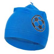 Čepice tenká obrázek Outlast® - modrá royal/míč