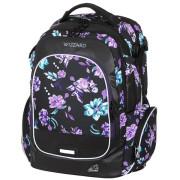 Studentský batoh WIZZARD Flower Violet
