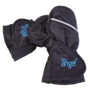 Rukavice s palcem Outlast® Vel. 2 (2-3 roky) - Černá/Výšivka modrá