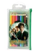Pastelky v PVC kapse Harry Potter 12ks