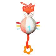 Natahovací plyšová hračka s melodií BabyOno Liška Fox