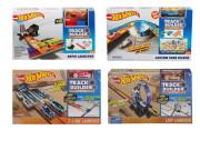 Hot Wheels Track builder doplňky a dráhy + autíčko Mattel
