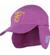 Dětská UV baseballová čepice - růžová
