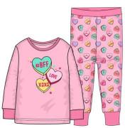Pyžamo dívčí, Minoti Růžová srdíčka