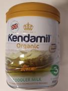 Kendamil Organické/BIO kojenecké mléko 3 pokračovací 800 g 2. jakost