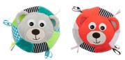Plyšový senzorický míček Medvídci Canpol