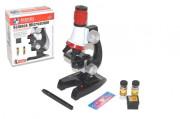 Mikroskop s doplňky 10x20 cm