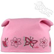 Dívčí šátek Kytičky Růžová RDX