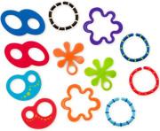 Kousátko kroužky Oball, 12ks, 0m+