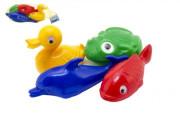 Plavací sada zvířátka do vany 4 ks