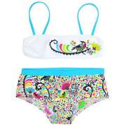 Dvoudílné plavky - Bikini De Birdy vel. 3-4 roky 2. JAKOST