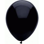 Balónek 30 cm černý, 10 ks