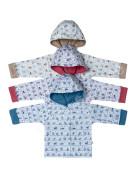 Bavlněný kabátek s kapucí Ptáčci Baby Service
