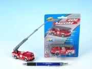 Auto hasiči kov/plast 7 cm