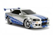 Rychle a zběsile RC auto Nissan Skyline 1:24