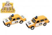Policejní auto VB na zpětné natažení na baterie se zvukem - 2 druhy