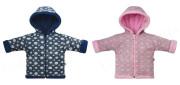 Kabátek s kapucí dvouvrstvý na zip Bubliny Baby Service
