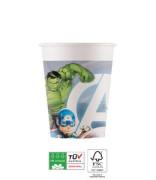 EKO papírové kelímky - Avengers Marvel 200 ml/8 ks