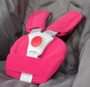 Univerzální souprava polstrování bezpečnostních pásů ByBoom Fuchsie