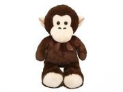 Opice plyšová 80 cm s mašlí