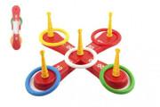Házecí hra plast kříž s kruhy