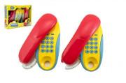 Telefony pokoj - pokoj plast na baterie 2ks vzdálenost 8 m