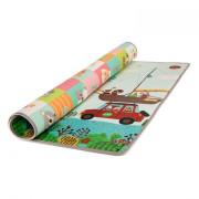Zopa pěnová podložka Play 150 x 180 cm Cestování/zvířátka 2. JAKOST PONIČENÝ POVRCH