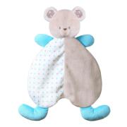 Plyšový usínáček modrý medvídek BabyOno