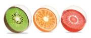 Míč nafukovací ovoce 46cm 3druhy 24m+