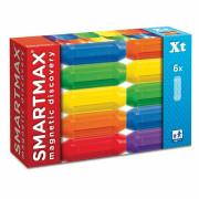SmartMax magnetická stavebnice krátké tyče 6 ks