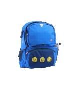 Lego Faces Blue Freshmen - školní batoh