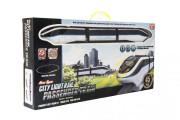 Vlak s kolejemi plast 45ks na baterie se světlem se zvukem