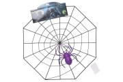 Pavučina s pavoukem 35 cm